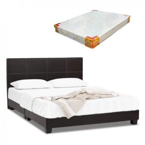 Nice Bedframe and Foam Mattress (Queen)