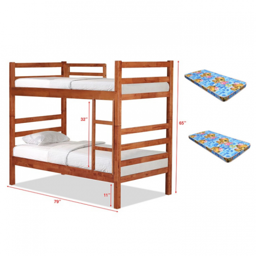 Winnipeg Double Deck Bunk Bed Set