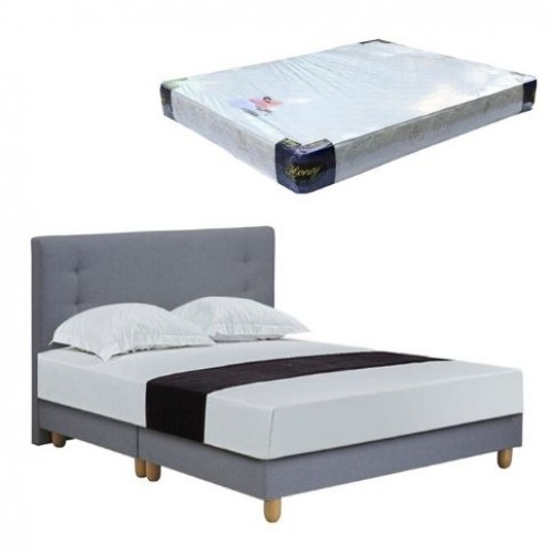 Velsen Bedframe and Foam Mattress (Queen)