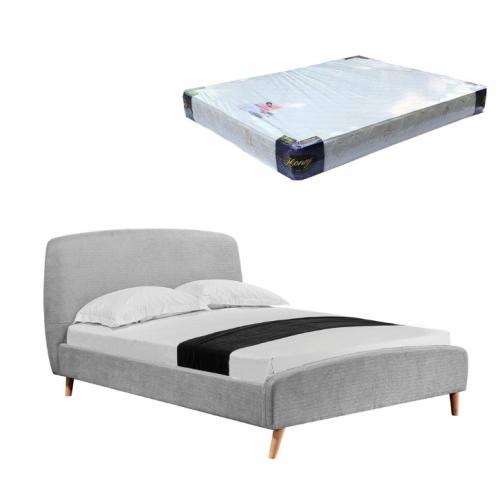 Deventer Bedframe and Foam Mattress (Queen)