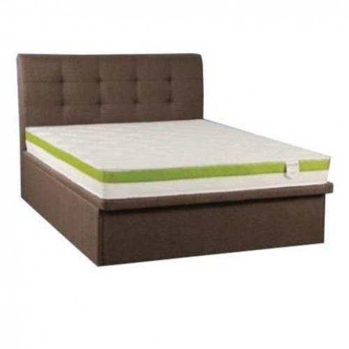 Bonn Storage Bed and Foam Mattress (Queen)