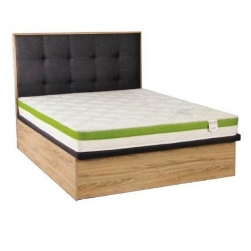 Cologne Storage Bed and Foam Mattress (Queen)
