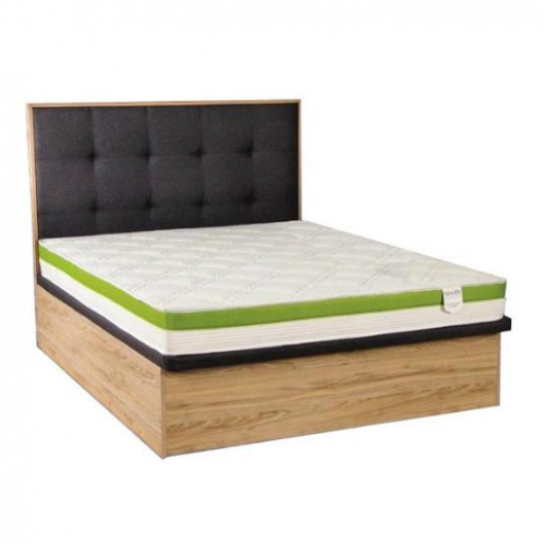 Cologne Storage Bed and Foam Mattress (4 Sizes)