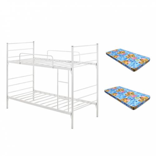 Moncton Metal Double Deck Bunk Bed Set