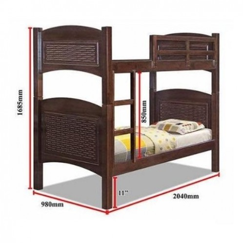 Ottawa Double Deck Bunk Bed