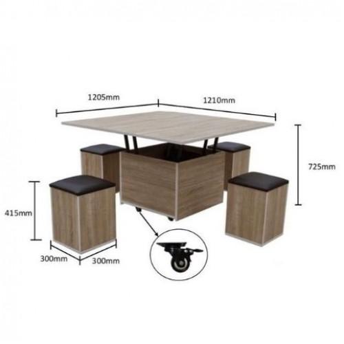 Espresso Coffee Table