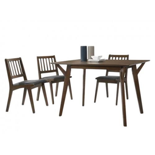 Haydn Dining Set (1T + 4C)