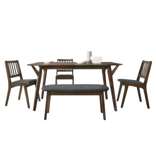 Haydn Dining Set (1T + 4C + 1B)