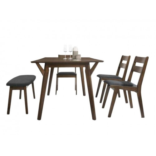 Bach Dining Set (1T + 4C + 1B)