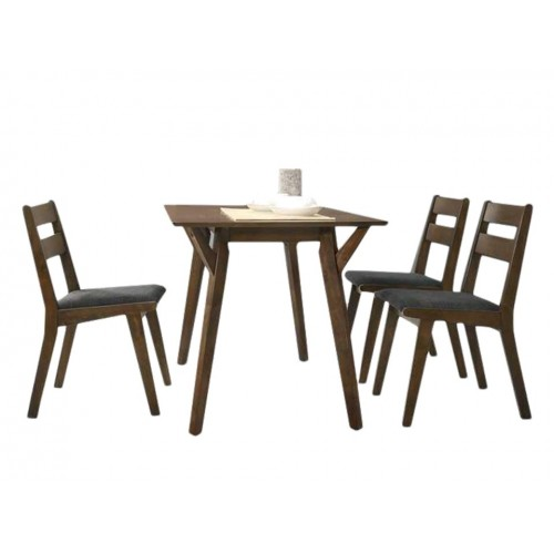 Bach Dining Set (1T + 4C)