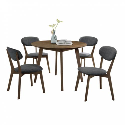 Rossini Round Dining Set (1T + 4C)