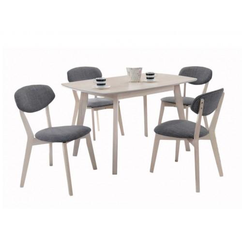 Rossini Dining Set (1T + 4C)