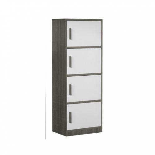 Porco 4 Tiers Storage Cabinet