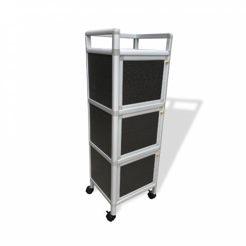 Flan 3 Doors Aluminum Cabinet