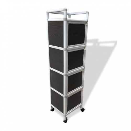 Flan 4 Doors Aluminum Cabinet