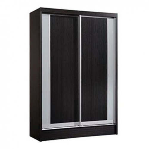 Davis Sliding Wardrobe (Walnut)