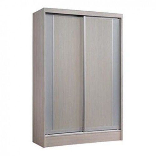 Davis Sliding Wardrobe (Whitewash)