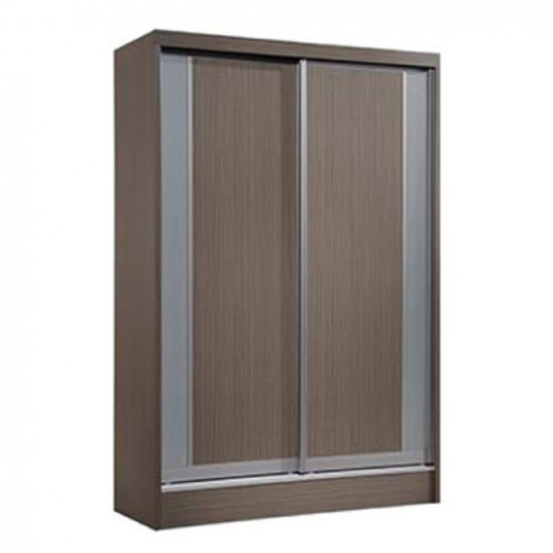 Davis Sliding Wardrobe (Brown)